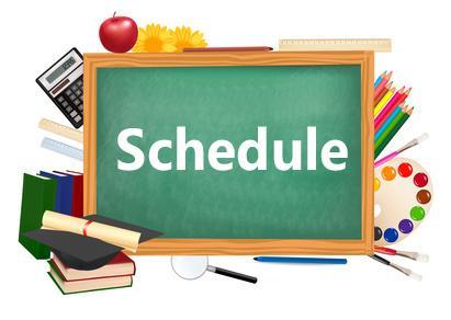 2017 - 2018 Class Schedule